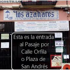 Entrada al (Pasaje De Los Azahares) donde se encuentra nuestro sex shop y tienda erótica de Sevilla.